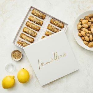 Lormiellerie-pâtisserie-marocaine-lyon-cigare-au-miel-amande-x12