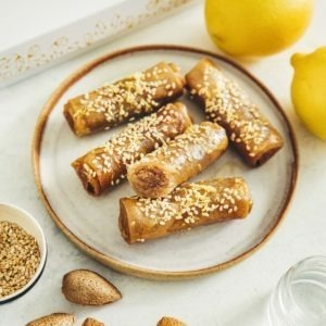 Lormiellerie-pâtisserie-marocaine-lyon-cigare-au-miel-amande-zoom