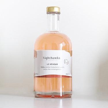 "Cocktail ""Le rêveur"" Nighthawks"